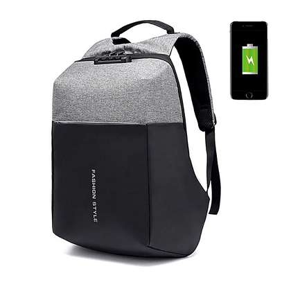 Antitheft Laptop Bags With Password Lock And Charging Port