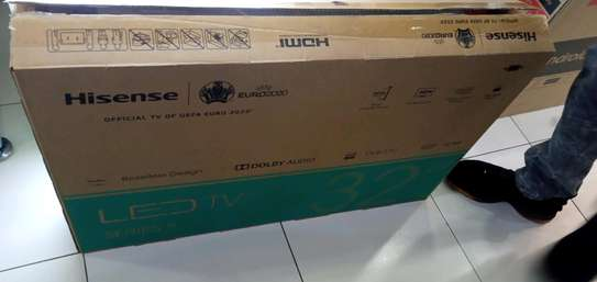 Brand new and sealed hisense tv smart android image 1