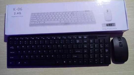 Keyboard mouse combo image 1