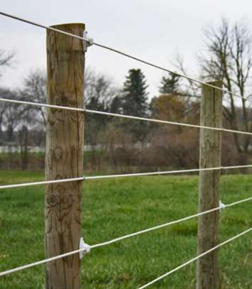 Electric Fencing Heavy Galvanized HT Wire image 1