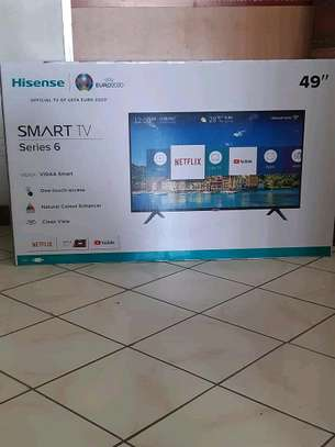 Hisense 49inches  smart on offer image 1