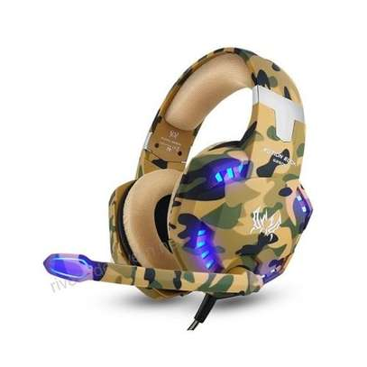 Gaming Headphone With Mic LED Light image 1