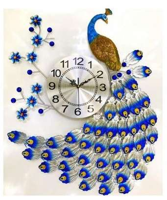 Peacock Wall Clock image 1