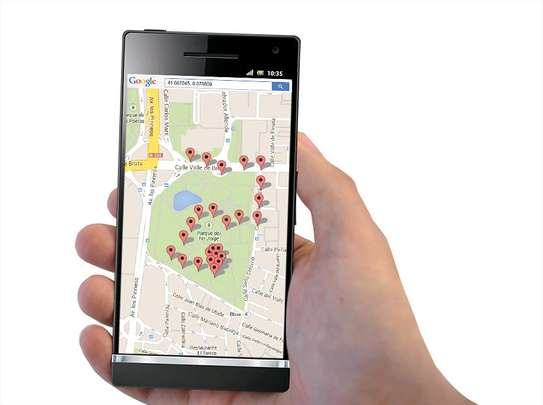 Track your vehicle using phone, no hassle.