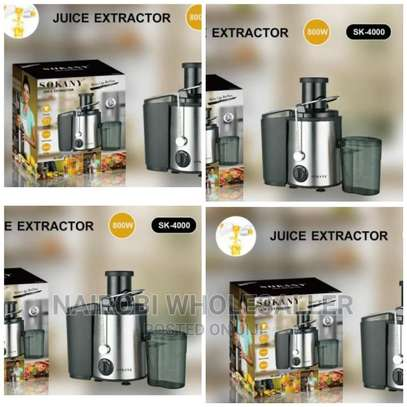 Sokany Juice Extractor Juicer image 1