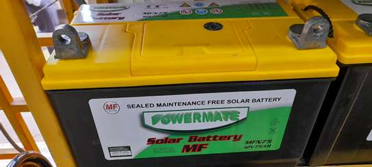 Powermate sealed maintainance free solar battery MF 100ah image 2