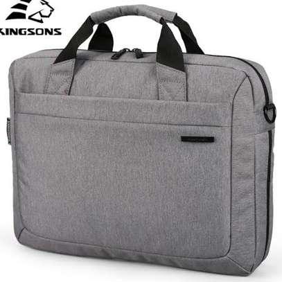"Kingsons Laptop Handbag 13.3"" Grey image 2"
