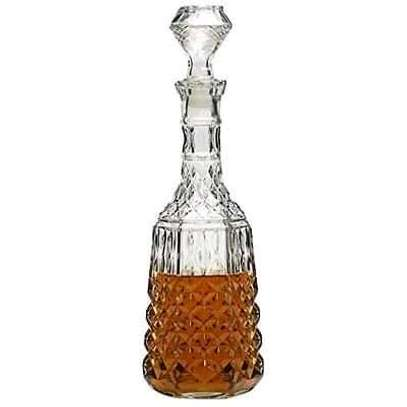 Long Neck Crystal Decanter image 1