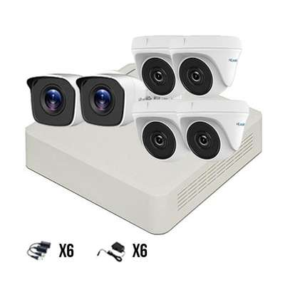 4 HD CCTV COMPLETE KIT (With Night Vision ) image 4
