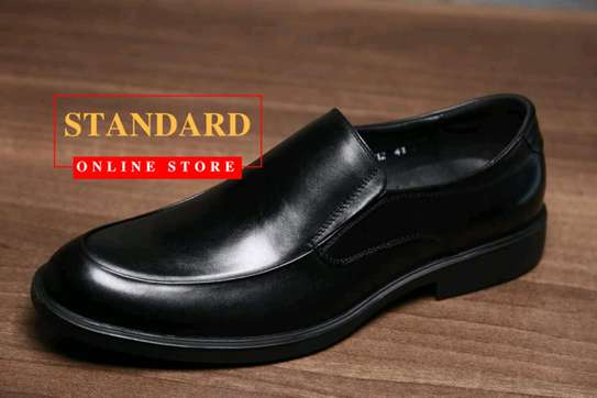 Men's Official Italian Leather Shoes with rubber sole image 27