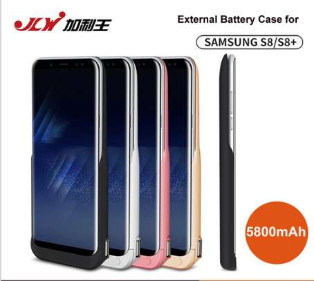JLW  Battery Case For Samsung Galaxy S8 5500mAh S8 Plus 6500mAh USB Smart Charger Cover For Samsung Galaxy S8 Plus Power Bank image 4