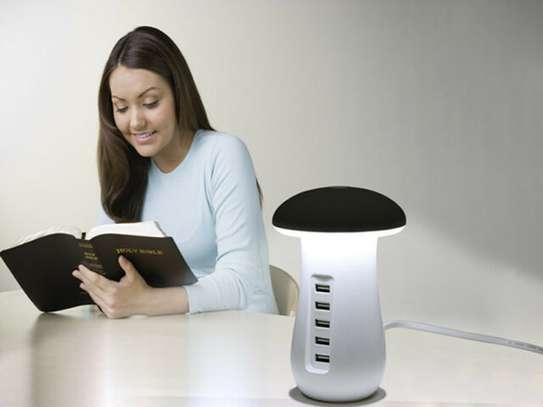 Mashroom Lamp with 5 charging ports39 image 5
