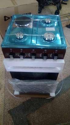 4 gas burner cooker oven gas. image 1