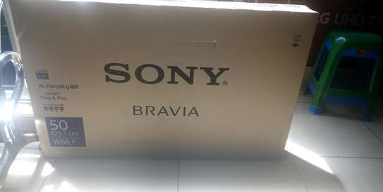 50 Sony Bravia Smart Tv (  Model W660) image 1