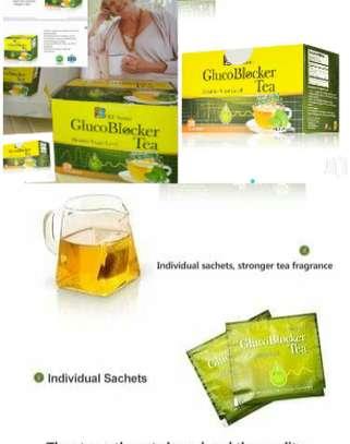 Glucoblocker Tea; 20 tea bag blood sugar product BFsuma image 4