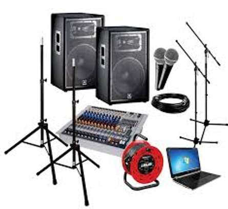 Sound System Hire image 1