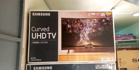 SAMSUNG CURVED UHD SMART 55NCH TV image 1