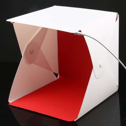 LED Folding Lightbox Portable Photography Studio Softbox image 1