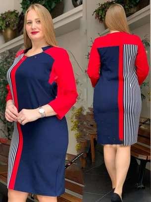Turkey stripped trendy shift dress image 1