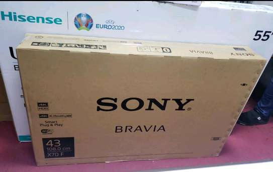 43 inch Sony X7000 Smart UHD 4K television