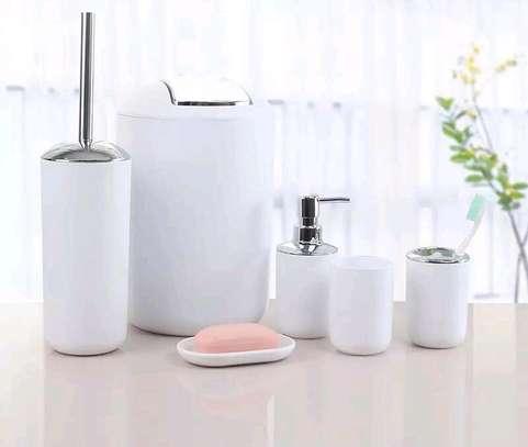 ?✨  ♦️Tooth Mug ♦️Toothbrush Holder ♦️Lotion Dispenser ♦️Soap Dish ♦️Trash Can  ♦️Toilet Brush With Holder image 3