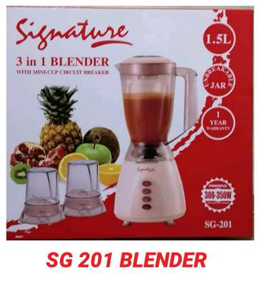 Signature blender/ 3 in 1  blender/Electric blender image 1