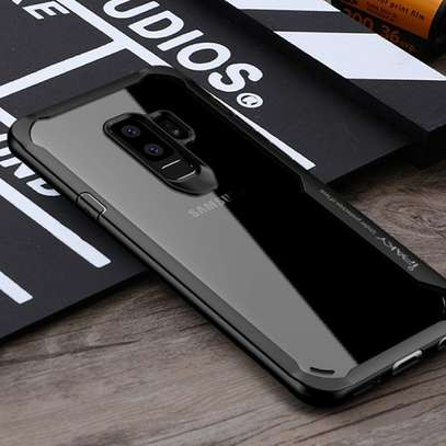 IPAKY Hybrid Shockproof Transparent Case for Samsung A8 2018/A8 Plus 2018 image 3
