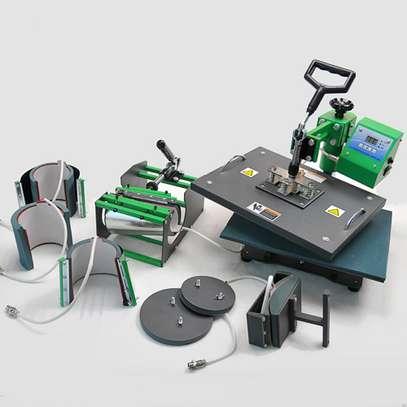 brand new durable heat press machine. image 1