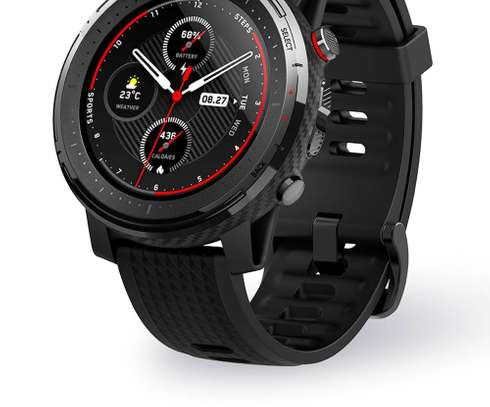 Amazfit Stratos 3 Smart Watch GPS 5ATM Bluetooth Music Dual Mode 14 Days Battery Smartwatch image 3