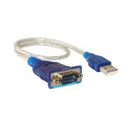 USB To RS232 Serial DB9 Serial Adapter Cable image 1