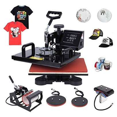 "5 in 1 Digital Multifunctional Heat Press Machine 12"" x 10"" image 1"
