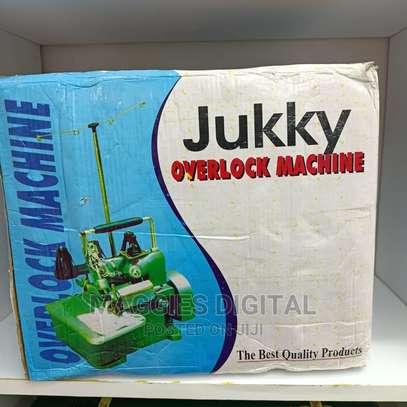 Mostly Used Jukky Overlock Machine image 1