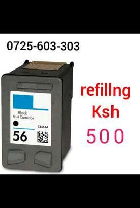 56  inkjet cartridge black C6656 image 1