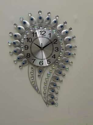 Question mark wall clock image 3