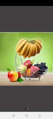 Fruit rack steel for banana image 1