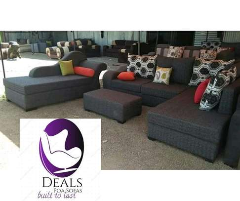 Six Seater Corner Seat + Sofabed/ Two Seater image 4