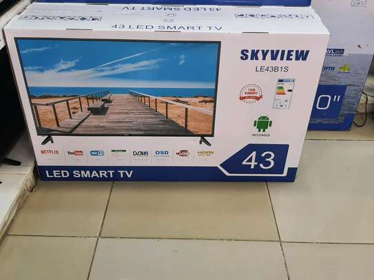 Skyview 43 Android Smart Tv With Netflix Youtube Wifi image 1