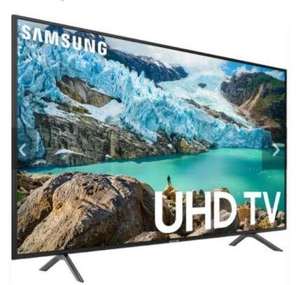 Samsung 55 Inch Class HDR 4K UHD FLAT Smart LED TV UA55RU7100K image 1