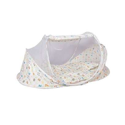 Large Unique new design baby nest / Mosquito net - flowered image 1