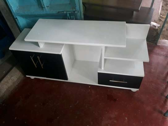 Modern wooden tv stand image 1
