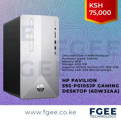 HP Pavilion 595-p0105jp Gaming Desktop core i7 9700 3.0GHz 8GB RAM 2TB HDD Storage 4GB Nvidia GeForce GTX 1650 Graphics card (6DW32AA)