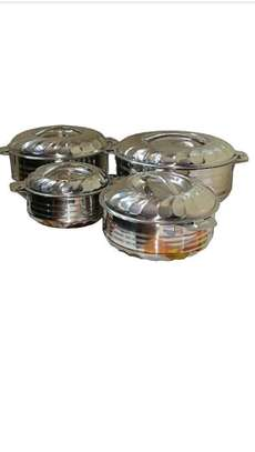 4 pieces stainless steel hot pot