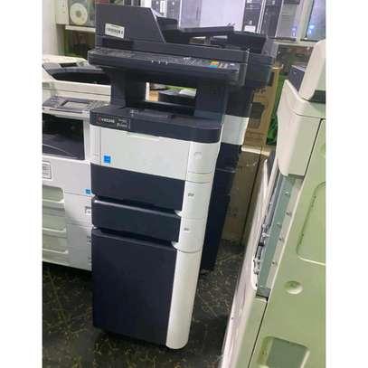 Kyocera ecosys m3040dn photocopier machine image 1