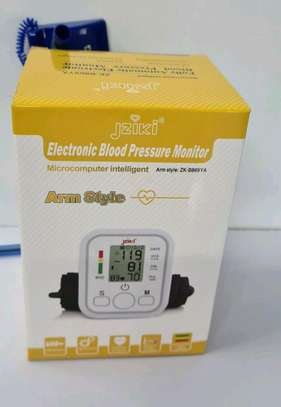Electric blood pressure monitor image 1
