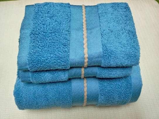 3 PIECE COTTON TOWELS image 5