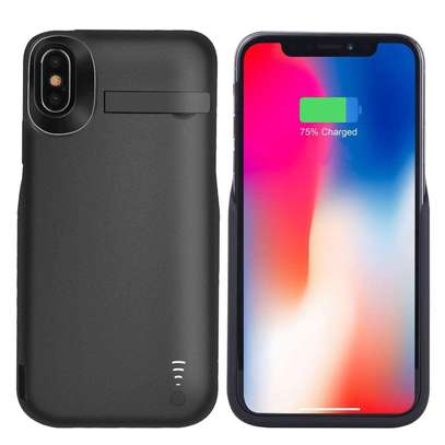 PowerCase 6000mAh Battery Charger Case For iPhone XS Max External Power Bank Charging Cover image 4