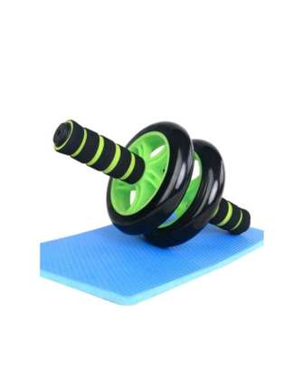 AB Wheel Double wheel Fitness Abs Roller with FREE mat image 4