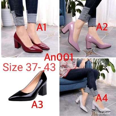 2 inch heels  ladies formal shoes image 1