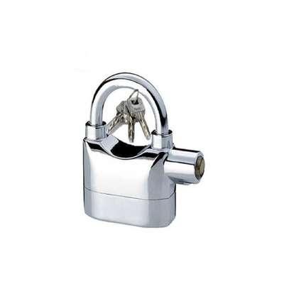 Padlock Alarm High Quality Alarm lock Siren Padlock for home % office security image 1
