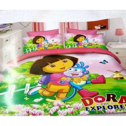 DORA Kids Cartoon Themed Duvet. image 1